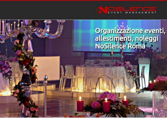 Noleggio di arredi per eventi a roma for Noleggio arredi