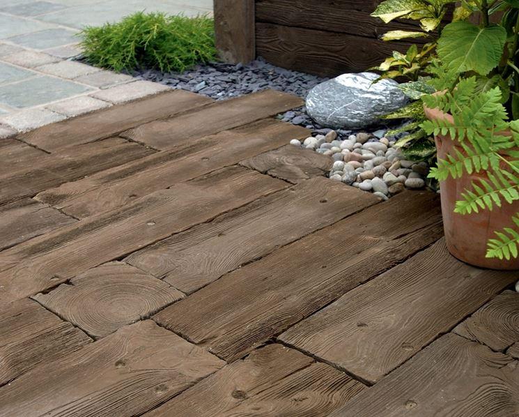 Le tipologie di pavimenti in legno per esterni - Pavimentazione cortile esterno ...